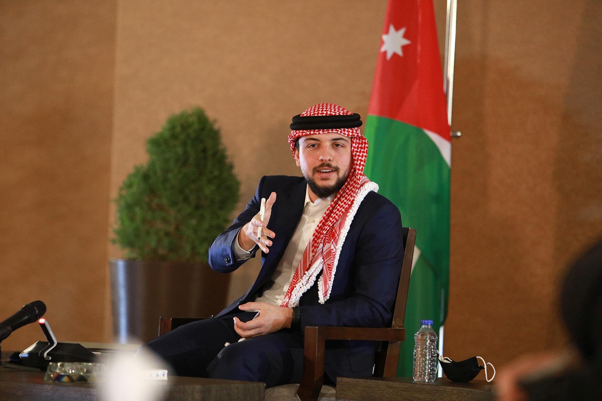 ولي العهد الأردني الحسين بن عبدالله