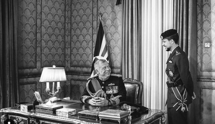 ولي عهد الأردن الأمير الحسين بن عبدالله