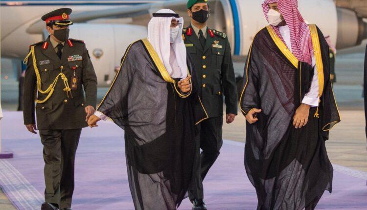 ولي عهد الكويت ومحمد بن سلمان