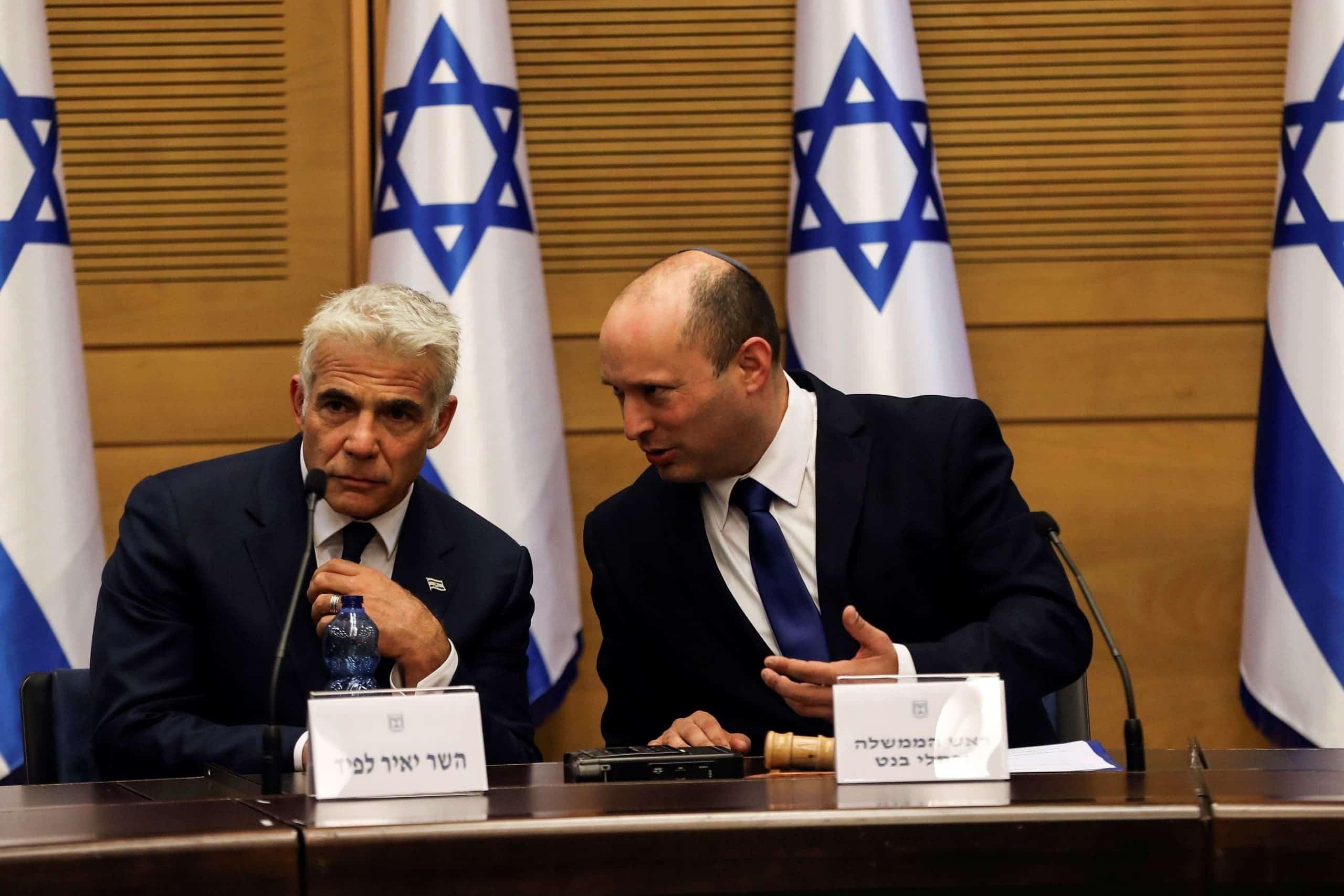 يائير لابيد وزير خارجية إسرائيل يزور الإمارات قريباً ويلتقي نظيره عبد الله بن زايد