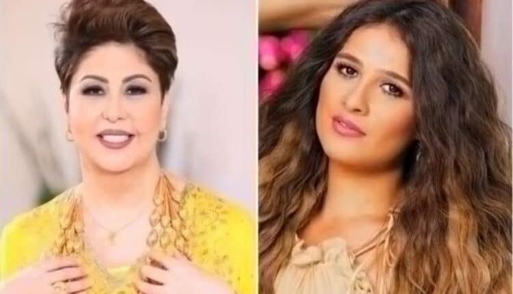 ياسمين عبدالعزيز و فجر السعيد