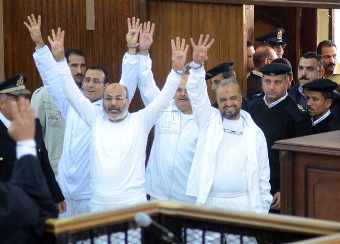 الإعدام لـ (صفوت حجازي و محمد البلتاجي) بقضية فض رابعة