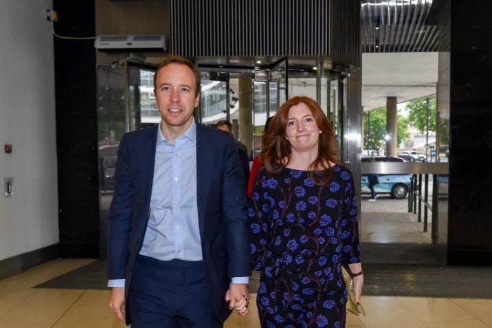 هانكوك وزوجته