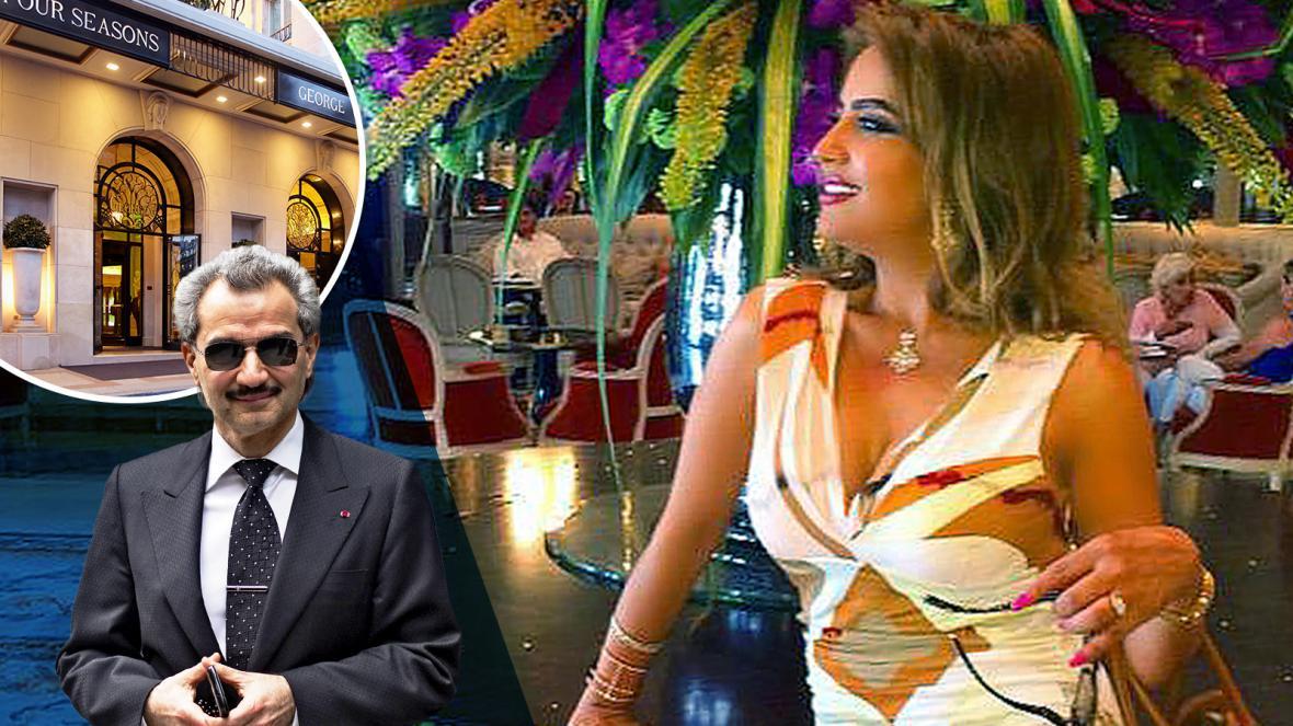 سرقة زوجة الوليد بن طلال السابقة