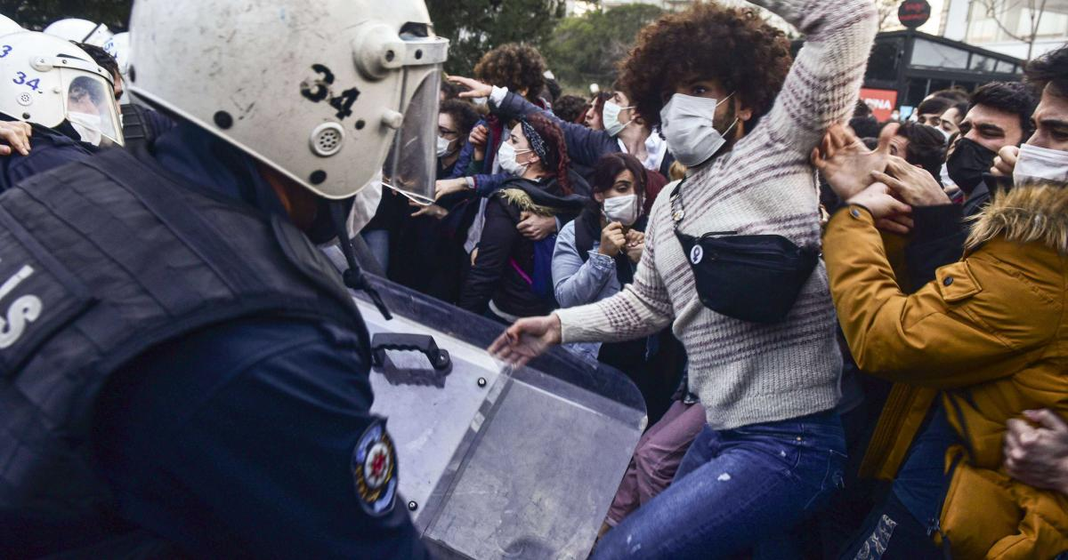 احتجاجات في تركيا