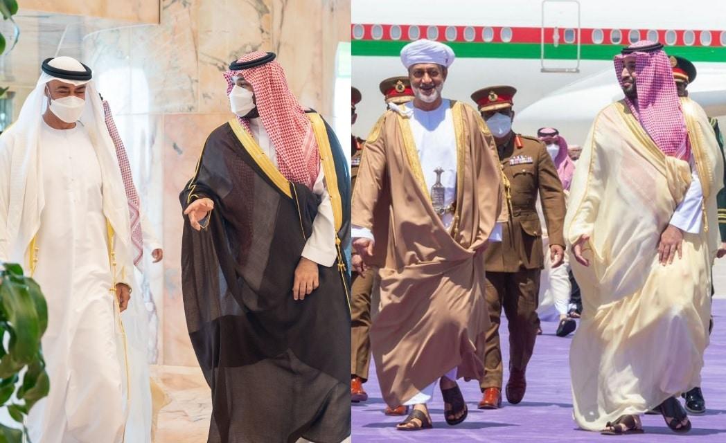 لماذا طبق محمد بن سلمان إجراءات احترازية في استقباله ابن زايد على عكس السلطان هيثم؟