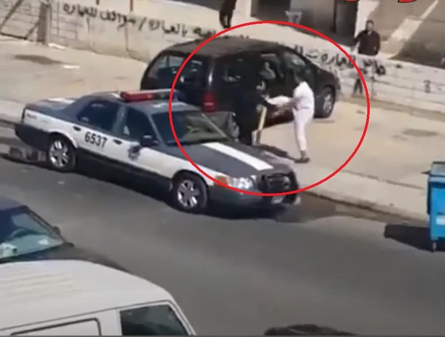 اعتداء على شرطي كويتي