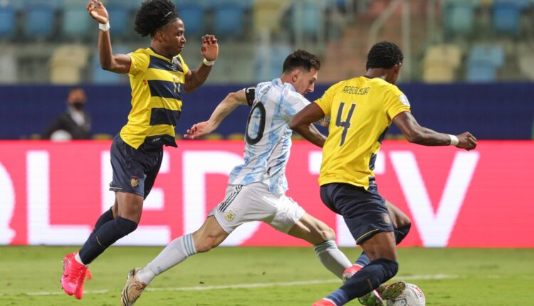 مباراة منتخب الأرجنتين والإكوادور في بطولة كوبا أمريكا