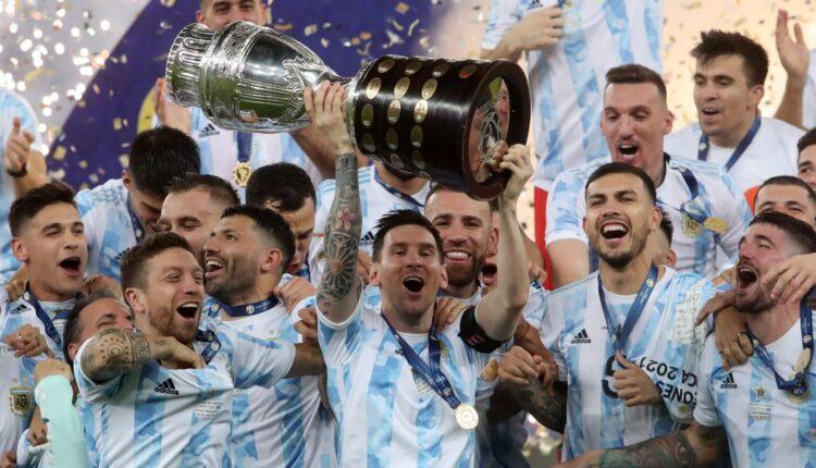 مباراة الأرجنتين والبرازيل في نهائي كوبا أمريكا