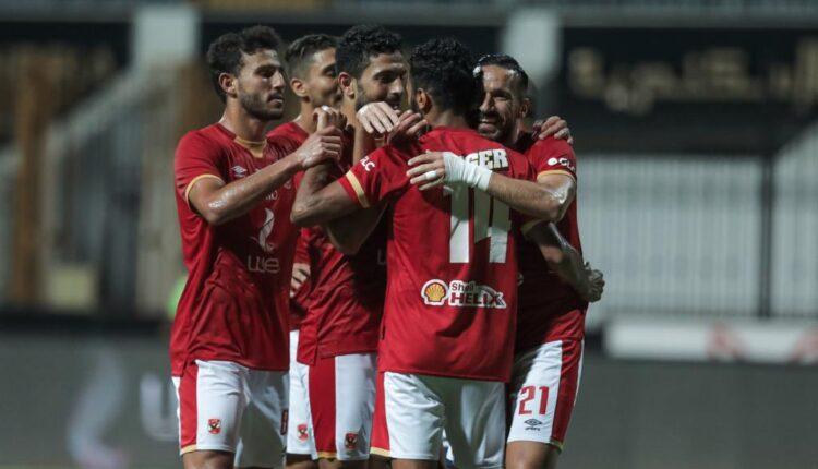 مباراة الأهلي وسموحة في الدوري المصري