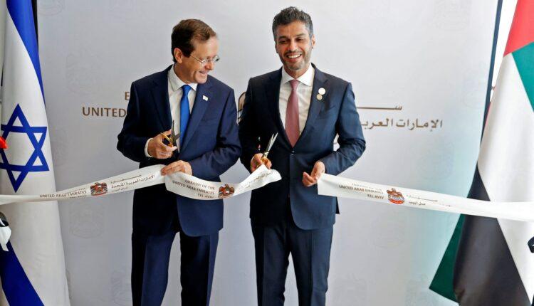 الإمارات تفتتح سفارتها رسمياً في تل أبيب