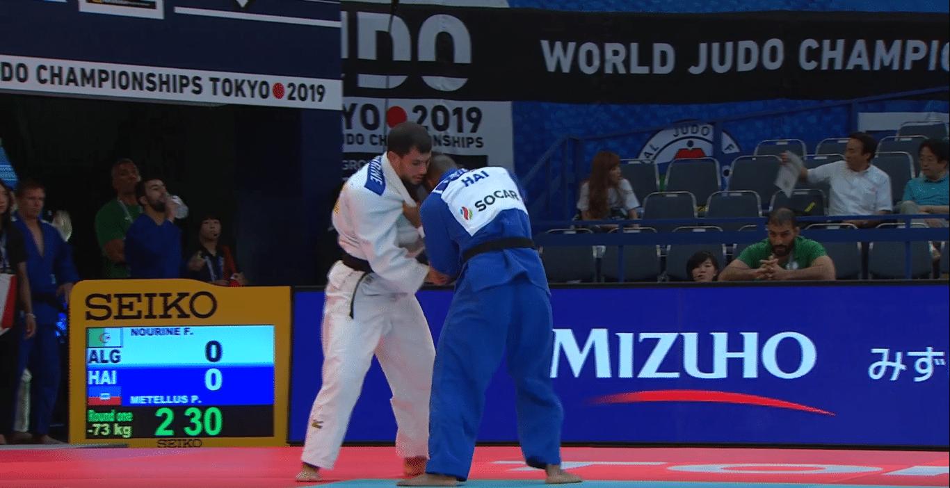 لاعب جودو فتحي نورين ينسحب من أولمبياد طوكيو