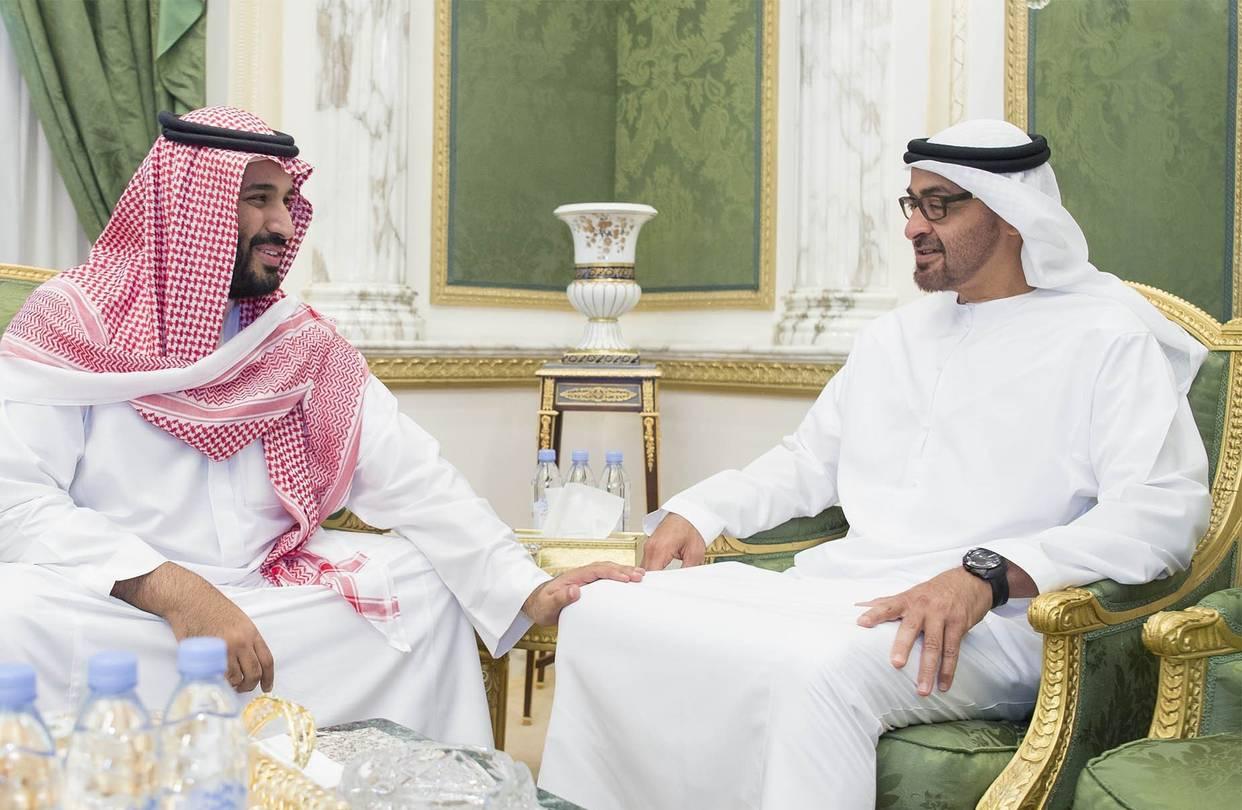 الخلاف بين الإمارات والسعودية