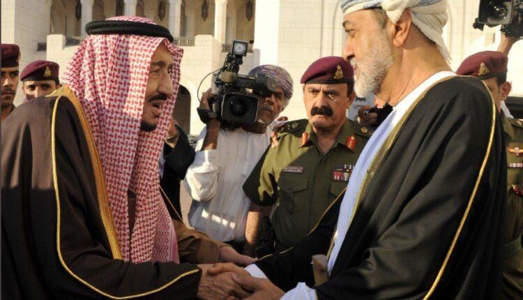 السلطان هيثم بن طارق يقوم بزيارة تاريخية الى السعودية
