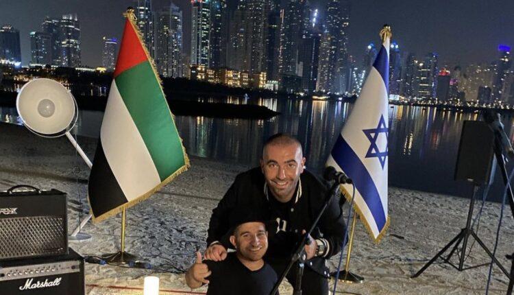 الفنان الاسرائيلي أومير آدام