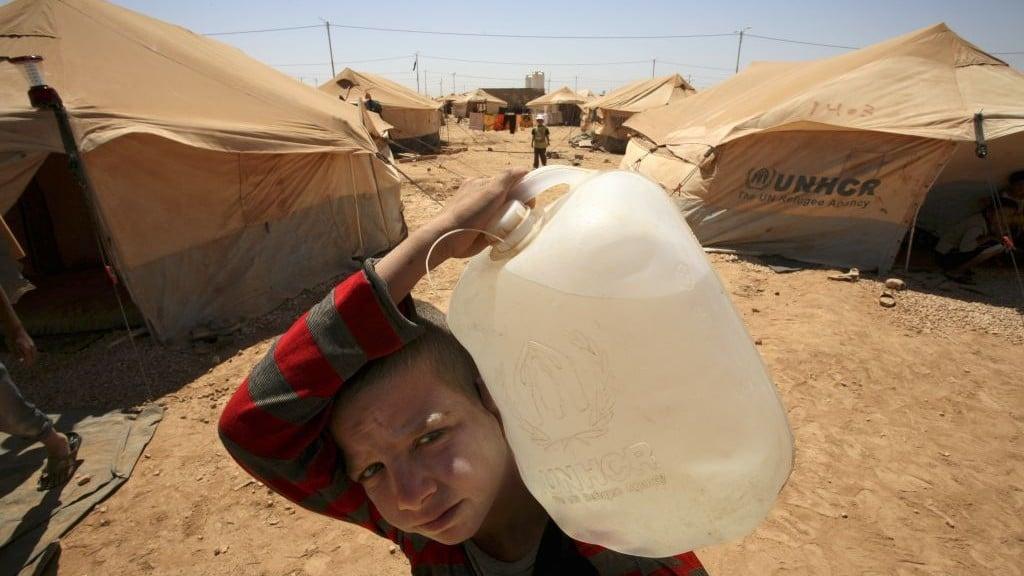 اللاجئون السوريون في الأردن