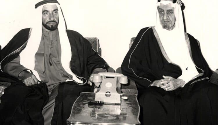 الملك فيصل والشيخ زايد