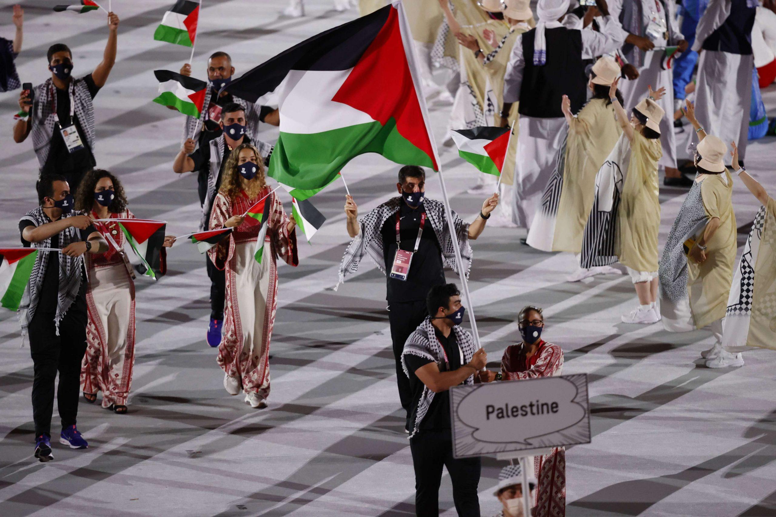 خريطة فلسطين في أولمبياد طوكيو تثير غضبا واسعا