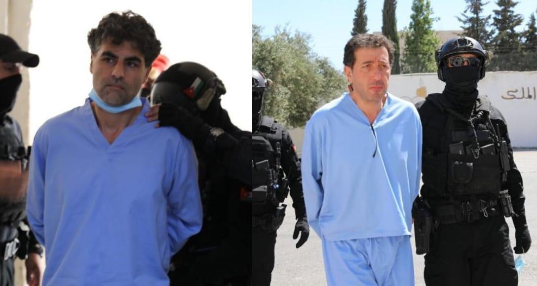 معاقبة باسم عوض الله و الشريف حسن بن زيد في قضية الفتنة