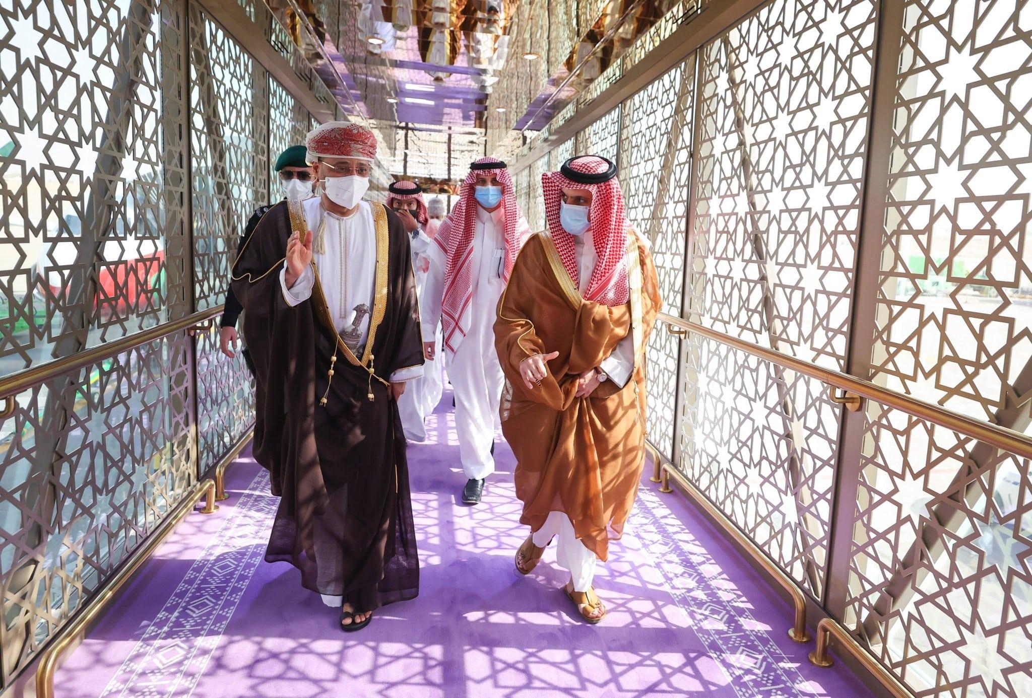 بدر البوسعيدي ونظيره خالد بن فرحان