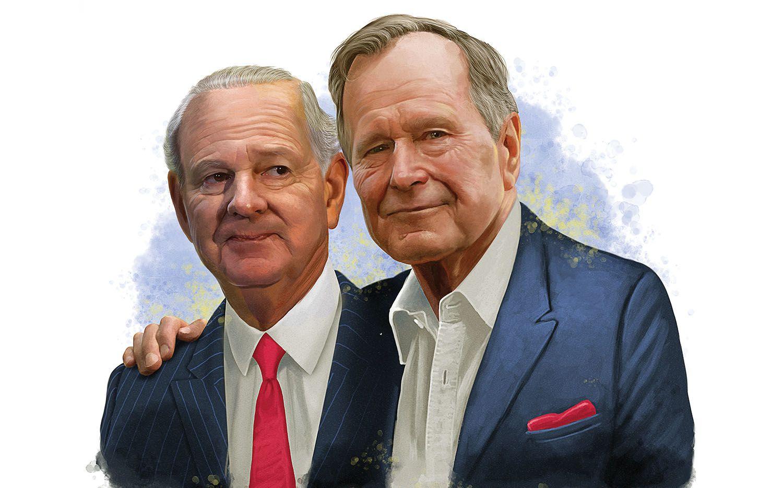 بوش الأب و جيمس بيكر