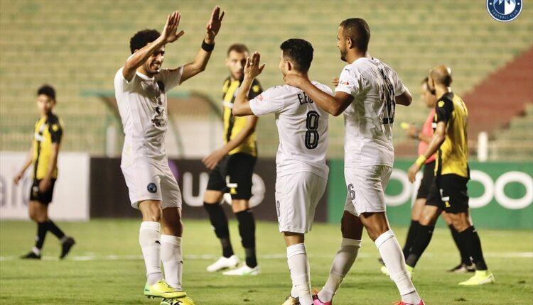مباراة بيراميدز والمقاولون العرب المؤجلة في الدوري المصري