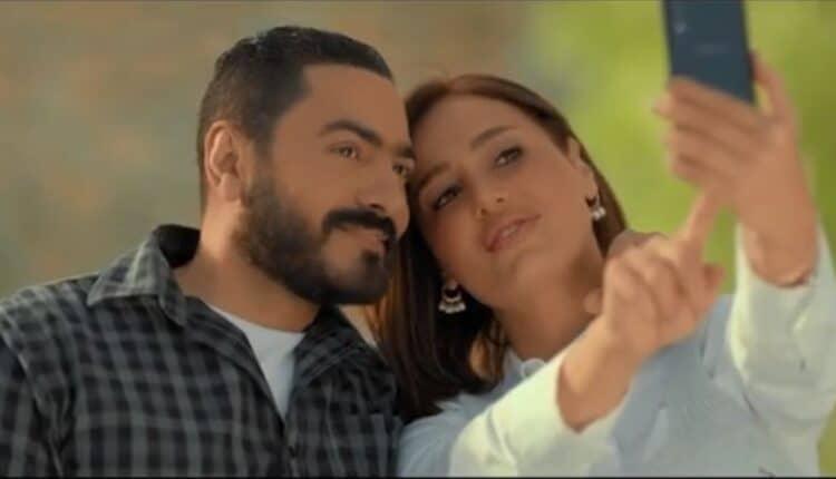 حلا شيحة تبكي بسبب مشاهدها مع تامر حسني وتوبخه