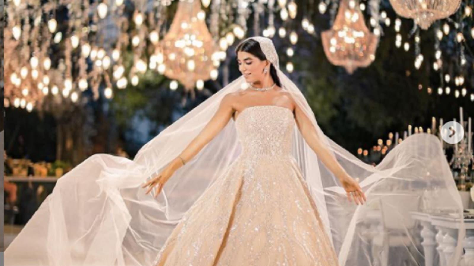 حفل زفاف ابنة النائب اللبناني نوار الساحلي