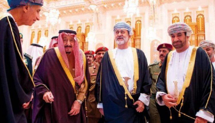 سلطان عمان هيثم بن طارق والملك سلمان