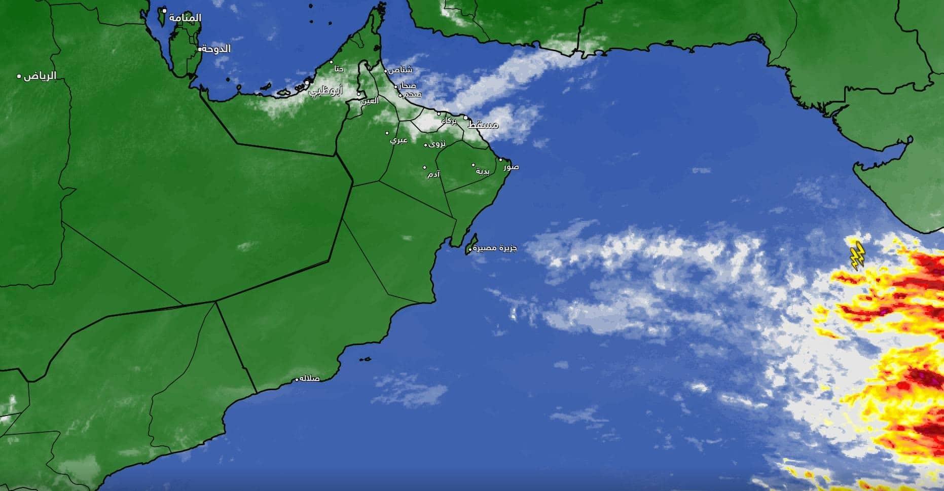 الحالة الجوية في سلطنة عمان