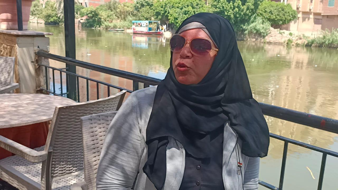 """أول تصريح لسيدة """"قطار منوف"""" صاحبة الفيديو الذي أحدث ضجة كبيرة بمصر (شاهد)"""