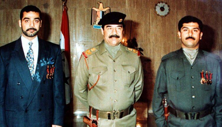 صدام حسين ونجليه عدي وقصي