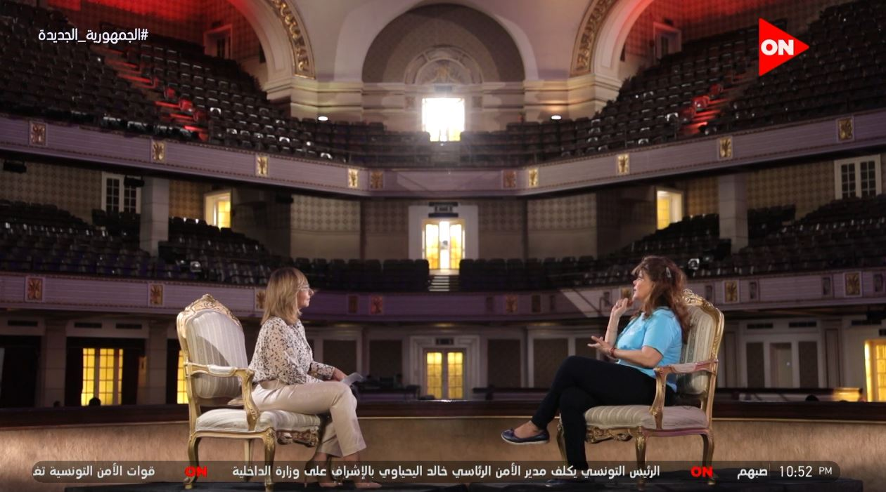صفاء أبو السعود تكشف قصة أهلا بالعيد وهذا ما فعله سمير غانم بصديقاتها