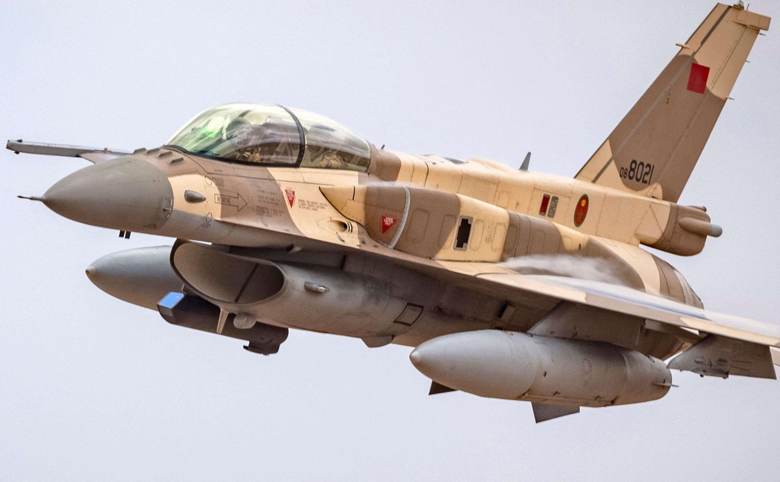 طائرة مغربية تصل قاعدة جوية في إسرائيل للمشاركة في تدريب عسكري