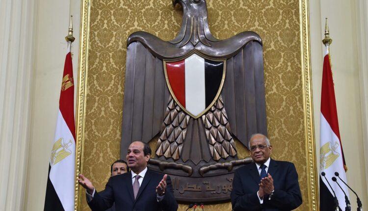 عبدالفتاح السيسي في مجلس النواب المصري