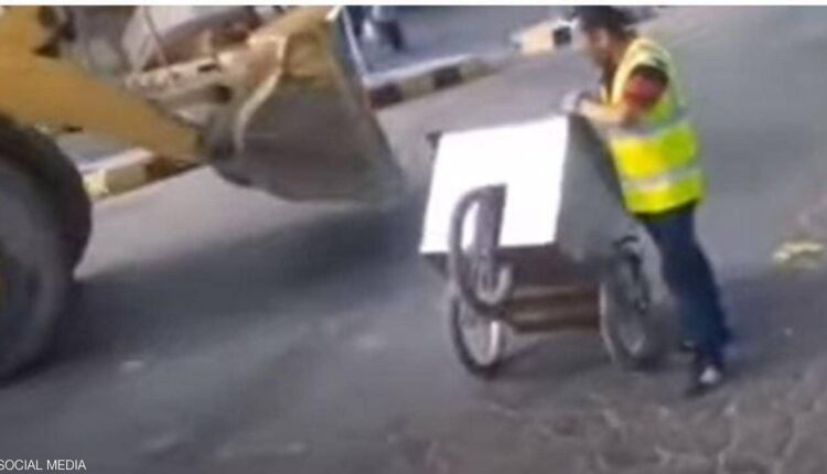 عربة الخضار في الأردن