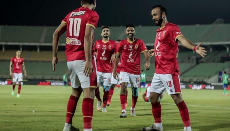 مباراة الأهلي ومصر المقاصة المؤجلة في الدوري المصري