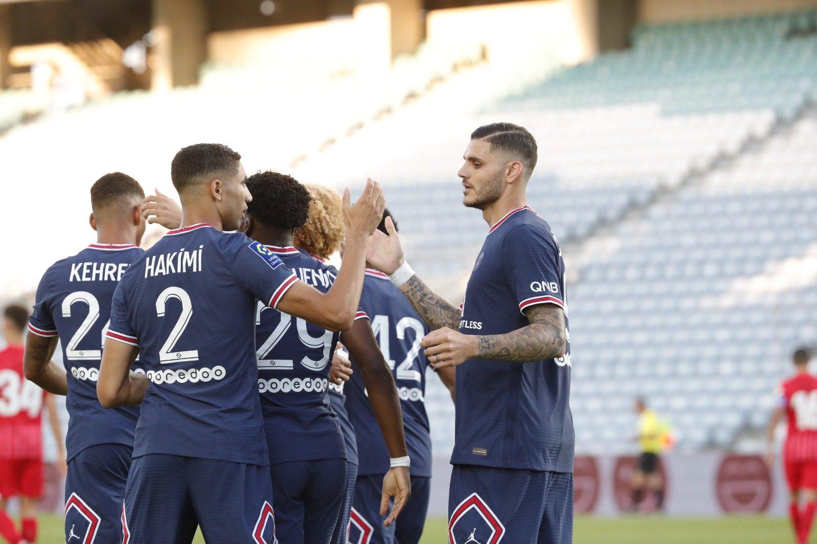 باريس سان جيرمان والتعادل في المباراة الودية مع إشبيلية