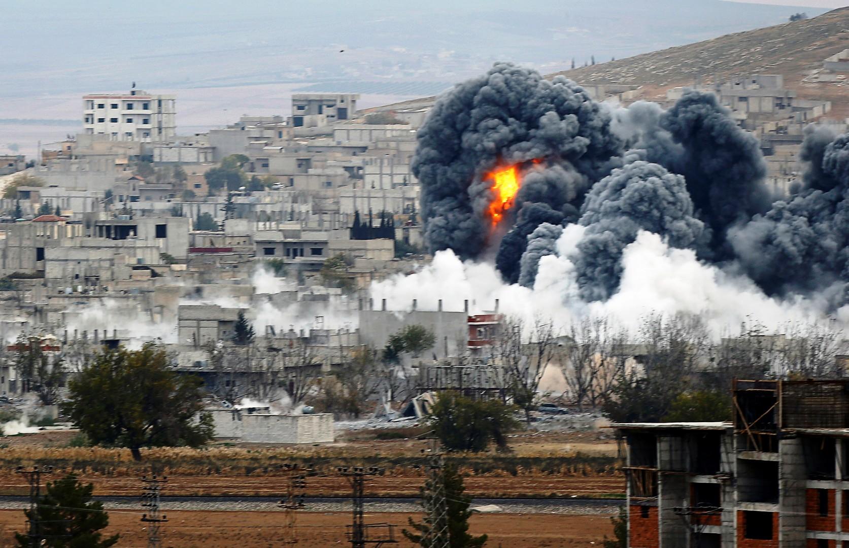 مجزرة ادلب تشعل مواقع التواصل