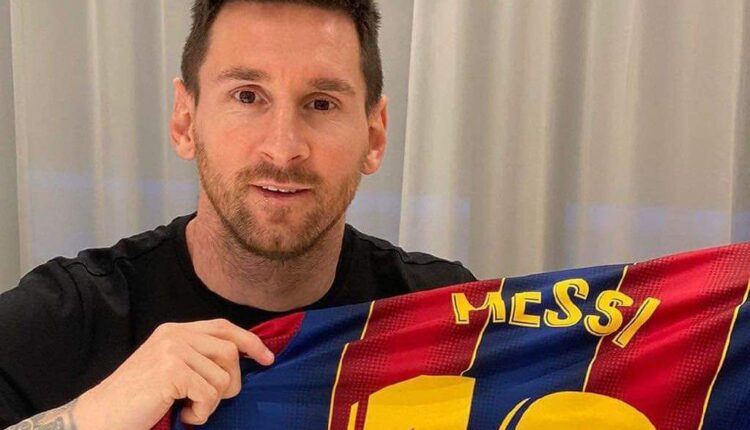 ليونيل ميسي والبقاء مع فريق برشلونة