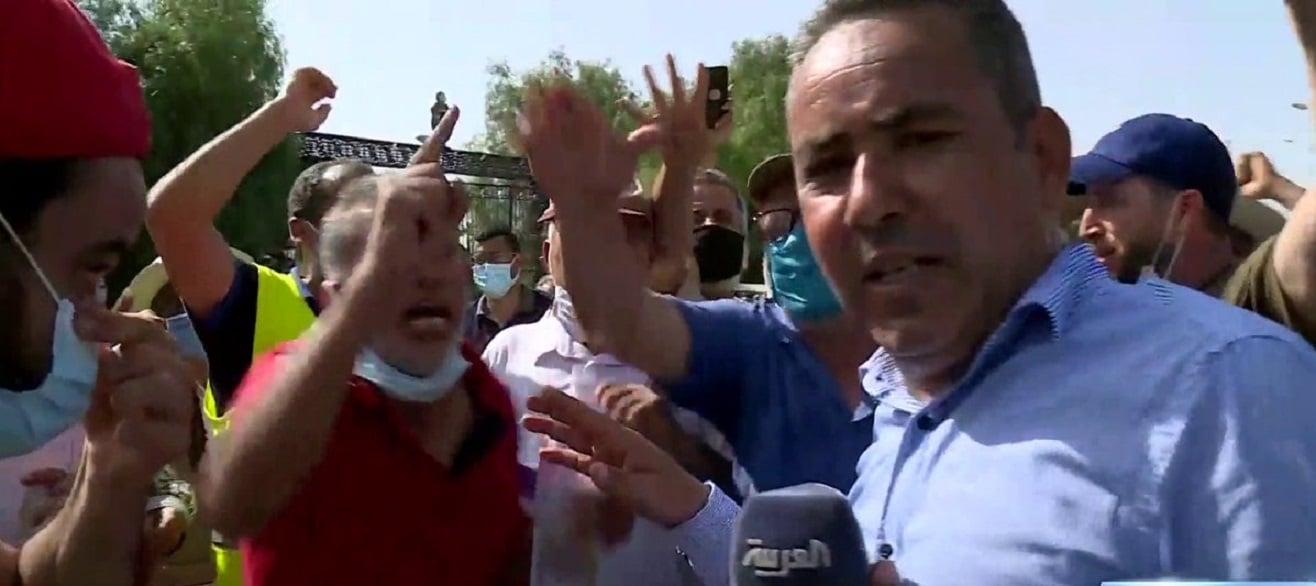 طرد مراسل العربية الحدث من أمام البرلمان التونسي