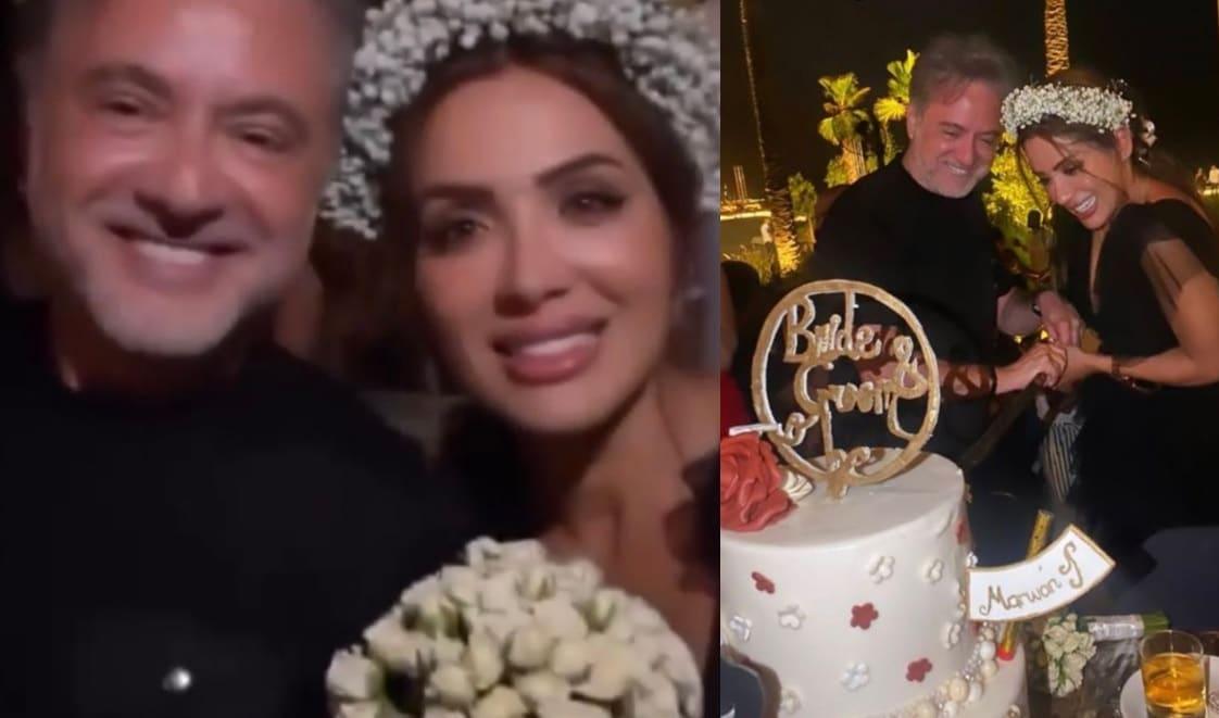 زفاف مروان خوري على فتاة من خارج الوسط الفني
