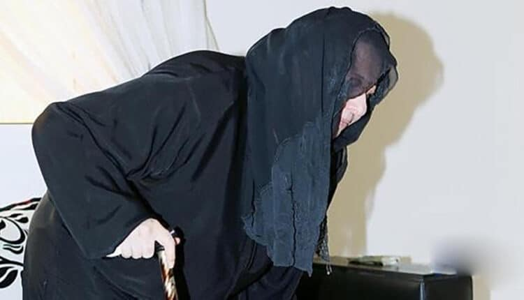 مسنة سعودية