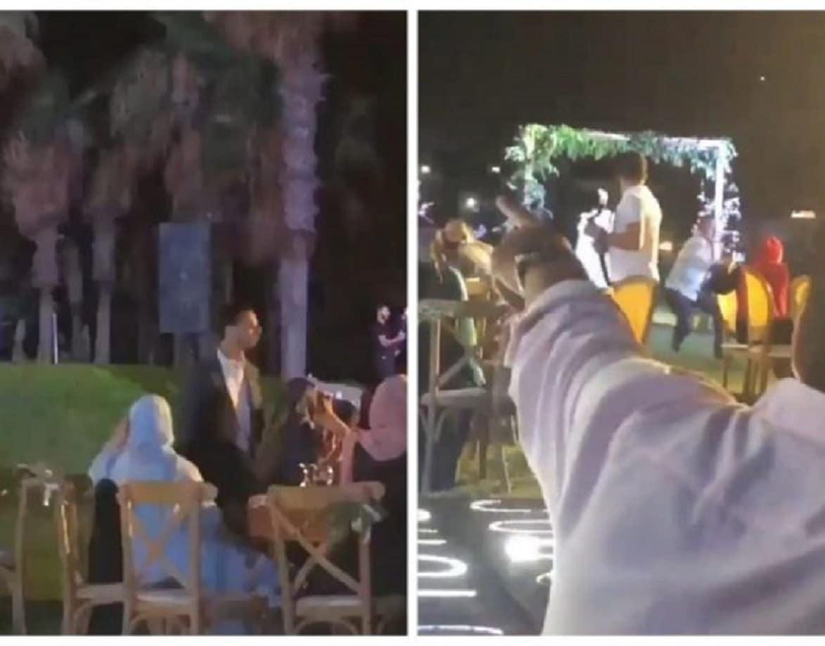 لحظة إطلاق النار على علي شبلي القيادي في حزب الله وقتله خلال حفل زفاف (فيديو)