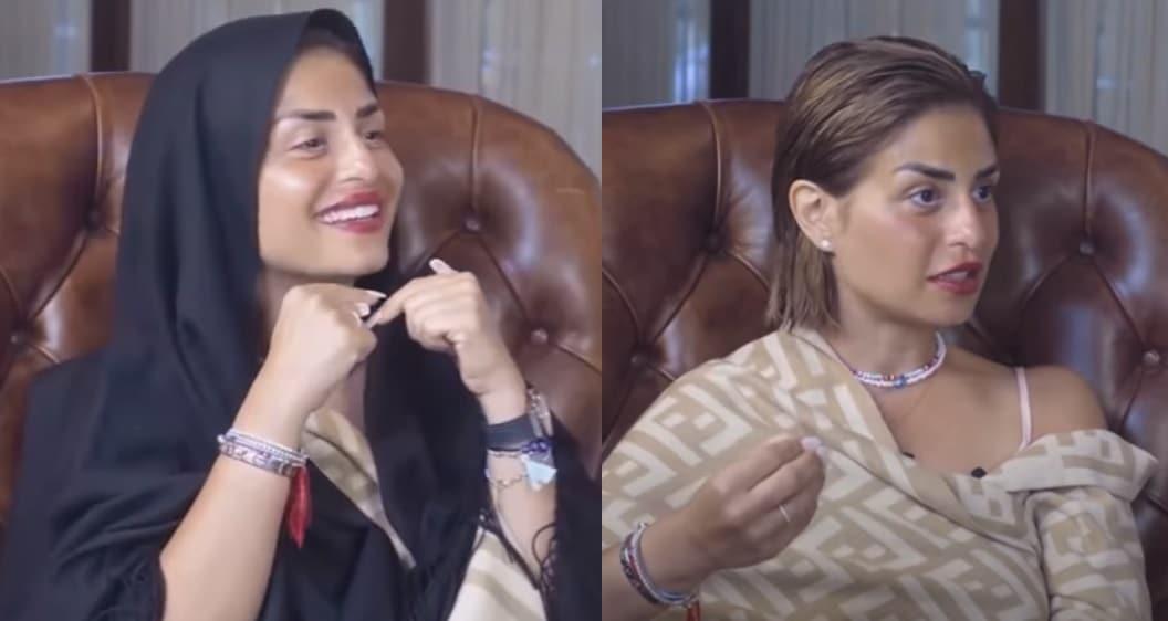 منة فضالي ارتدت الحجاب في برنامج نزار الفارس