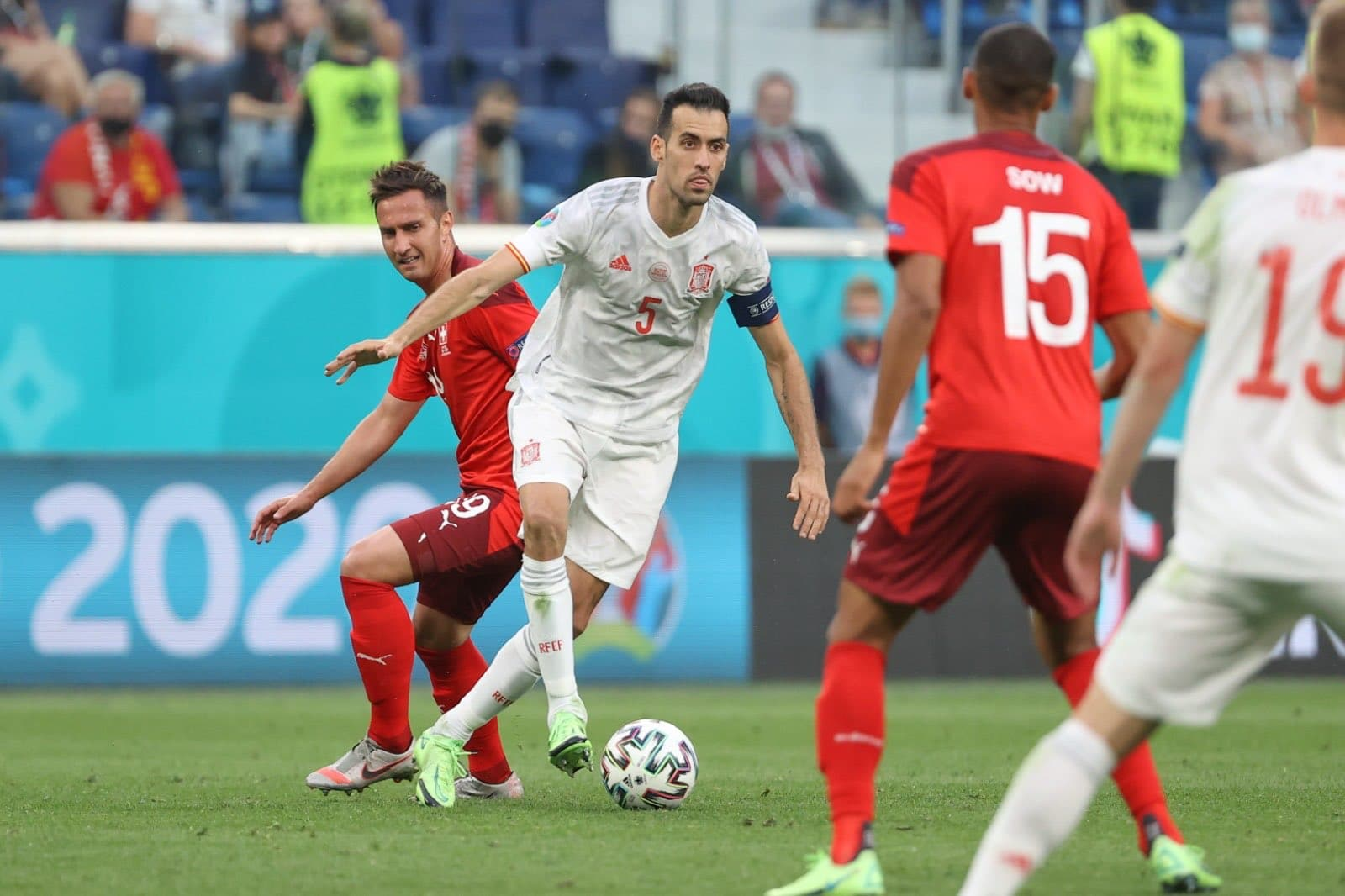 إسبانيا تفك العقدة أمام سويسرا وتتأهل إلى نصف نهائي اليورو بركلات الترجيح (شاهد)