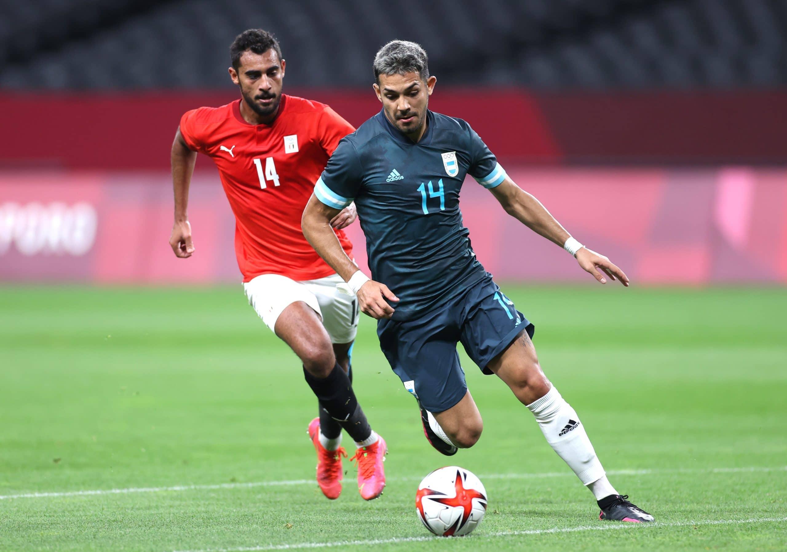 مباراة منتخب الأرجنتين ومصر