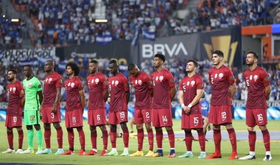 مباراة منتخب قطر وأمريكا