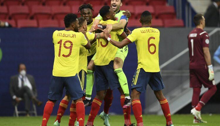 منتخب كولومبيا يحقق المركز الثالث في كوبا أمريكا