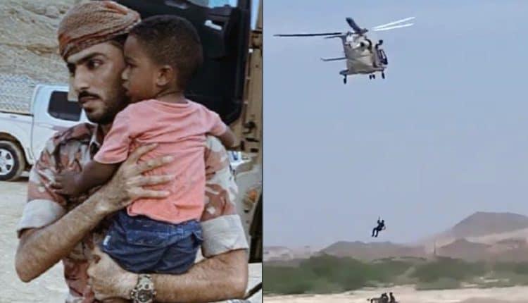 """""""منخفض الحج"""" في عُمان يودي بحياة طفلين وفقدان آخرين وإجلاء عشرات العائلات من منازلها"""
